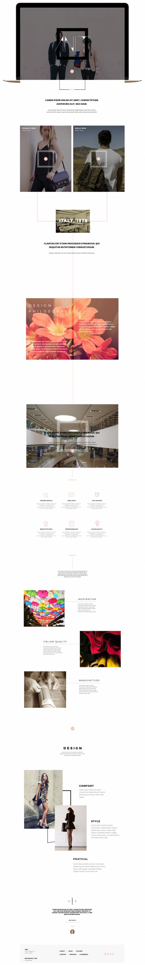 Ilas portfolio corso di web design napoli valentina for Corso di fashion design