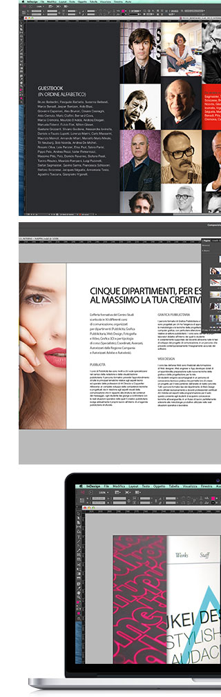 A77 | InDesign Base Livello 1